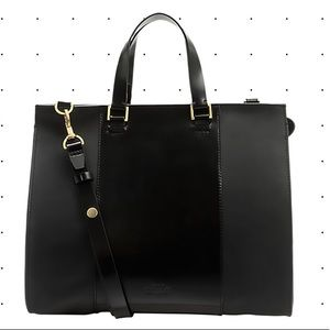 Kate Spade Saturday Satchel Leather Bag Black